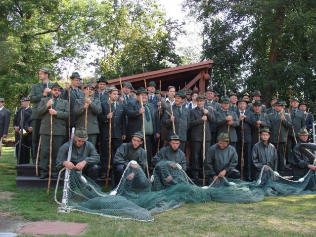Rybářské slavnosti - slavnostní zahájení