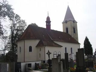 Hřbitov u kostela