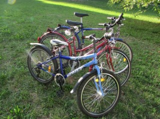 Půjčovna jízdních kol a cyklodoplňků v Třeboni