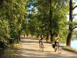 Cyklisté na naučné cyklostezce