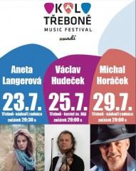 Koncerty festivalu Okolo Třeboně - červenec 2016