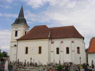 Bošilec: kostel sv. Martina