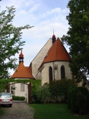 Kostel a kaple ve Stráži n. N.