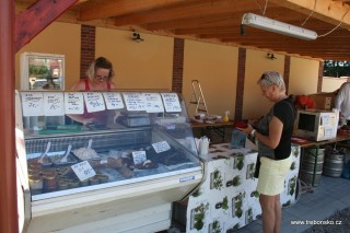 Uzené ryby, rybí saláty, paštiky, karbenátky...