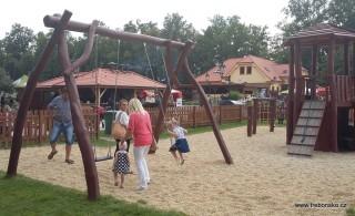 Dětaké hřiště Pod Světem