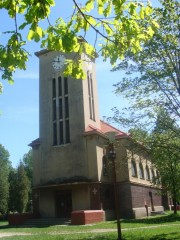 České Velenice - kostel sv. Anežky