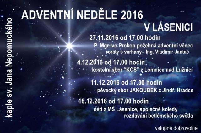 Adventní neděle 2016