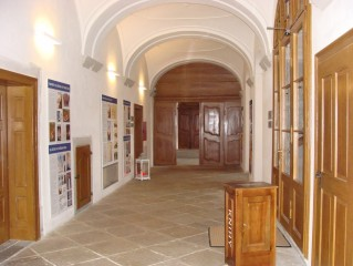 Prostory bývalého kláštera