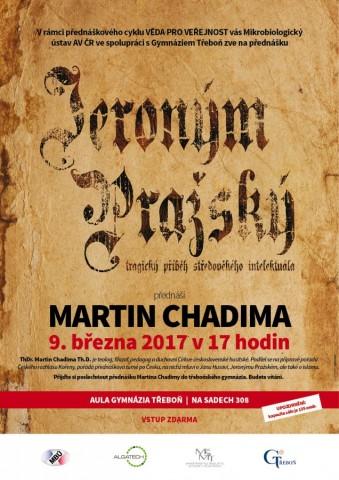 Jeroným Pražský - plakát