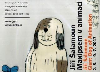 Výstava Jiří Šalamoun – Maxipsem v animaci