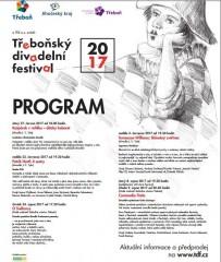 TDF 2017 - plakát s programem
