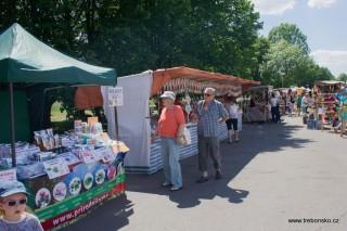 Trhy v lázeňském parku