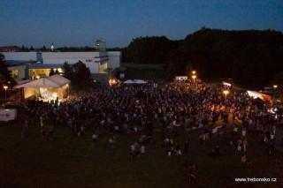 Lázeňský park při koncertu Jelenu