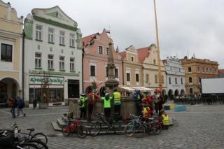 Cykloúschovna v Třeboni