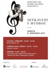 Setkání s hudbou - Třeboňsko