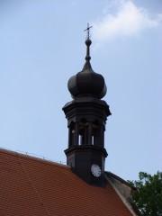 Věžička kostelíku v Mláce