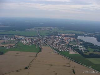 Město Třeboň - střed CHKO Třeboňsko