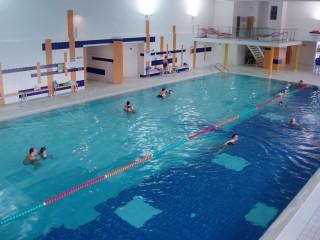 Rehabilitační bazén v Lázních Aurora