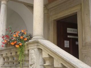 Část zámeckého objektu je sídlem Státního oblastního archívu