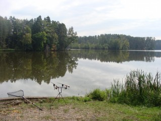 Nový Kanclíř - rekreační rybolov