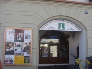 Informační středisko, Masarykovo náměstí, Třeboň