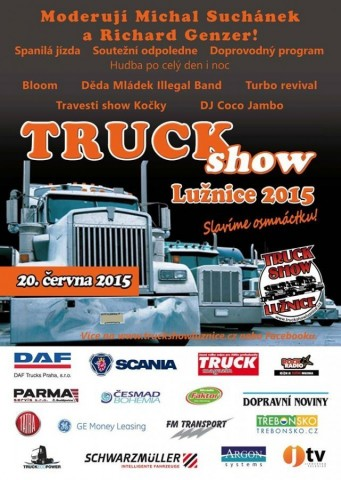 Truck Show Lužnice 2015