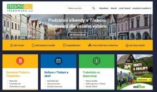 Spouštíme novou verzi webu Trebonsko.cz