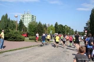 Běžce čeká trať dlouhá 11,72 km, limit 120 minut.