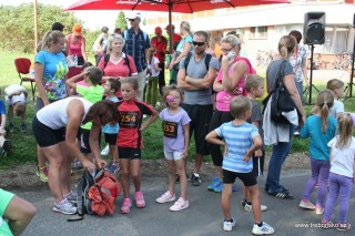 Po startu hlavního závodu se běžely závody dětí podle věku