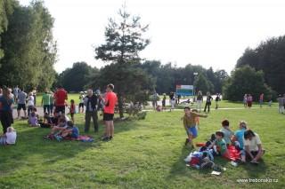 Pohodové sportovní odpoledne v lázeňském parku