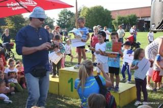 V dětských soutěží byl odměněn každý!