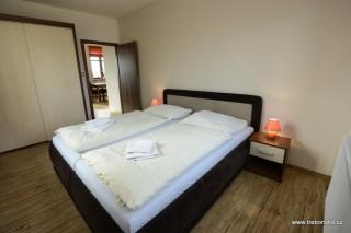 Apartmán červený - ložnice