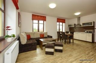 Apartmán Na Seníku - červený