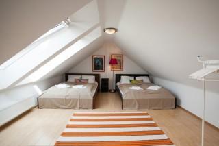 Dům Martina - čtyřlůžková ložnice