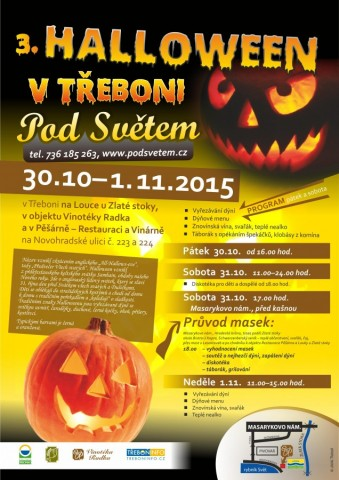 Hallowen 2015 v Třeboni