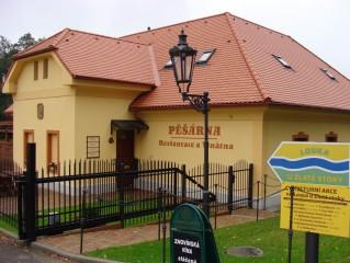 Pěšárna - Restaurace a Vinárna
