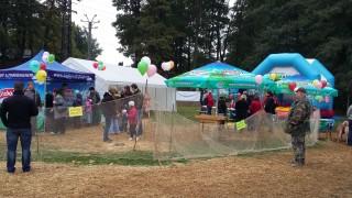 Rybáři mají pro děti soutěže, odměnou je balónek s Třeboňským kaprem