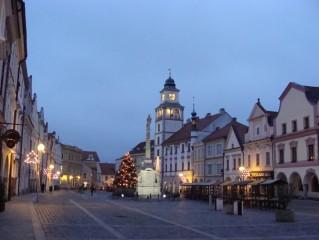 Vánoční strom na Masarykově náměstí