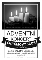 Adventní koncert chrámového sboru