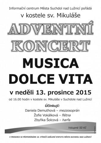 Adventní koncert Musica Dolce Vita
