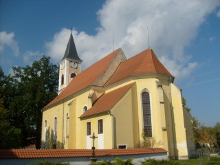 Kostel sv. Mikuláše v Suchdole n. Lužnicí