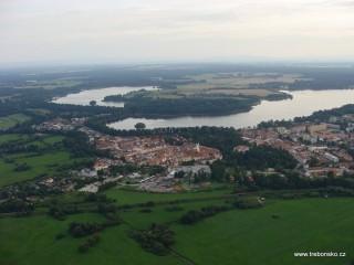 Třeboň a rybníky Svět a Opatovický