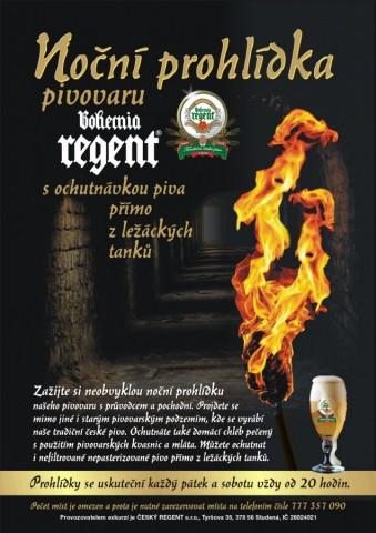 Noční prohlídky pivovaru