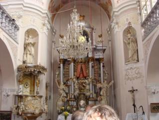 Kostel zasvěcený Nanebevzetí Panny Marie