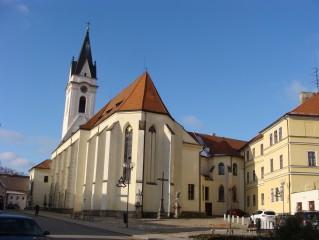 Kostel Panny Marie Královny a sv. Jiljí, Třeboň