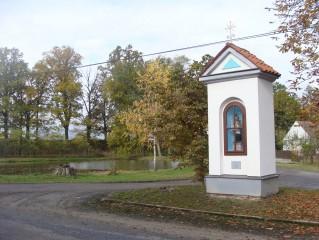 Výklenková kaple, zasvěcená sv. Janu