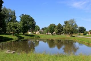 Rybník na návsi v Lipnici