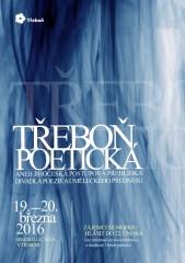 Třeboň poetická 2016 - plakát