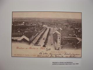 Strážské náměstí v r. 1899
