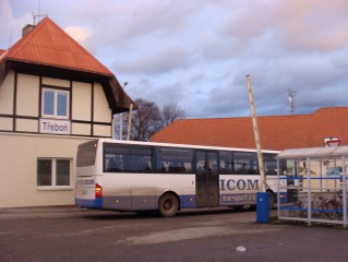 Autobusové nádraží V Třeboni